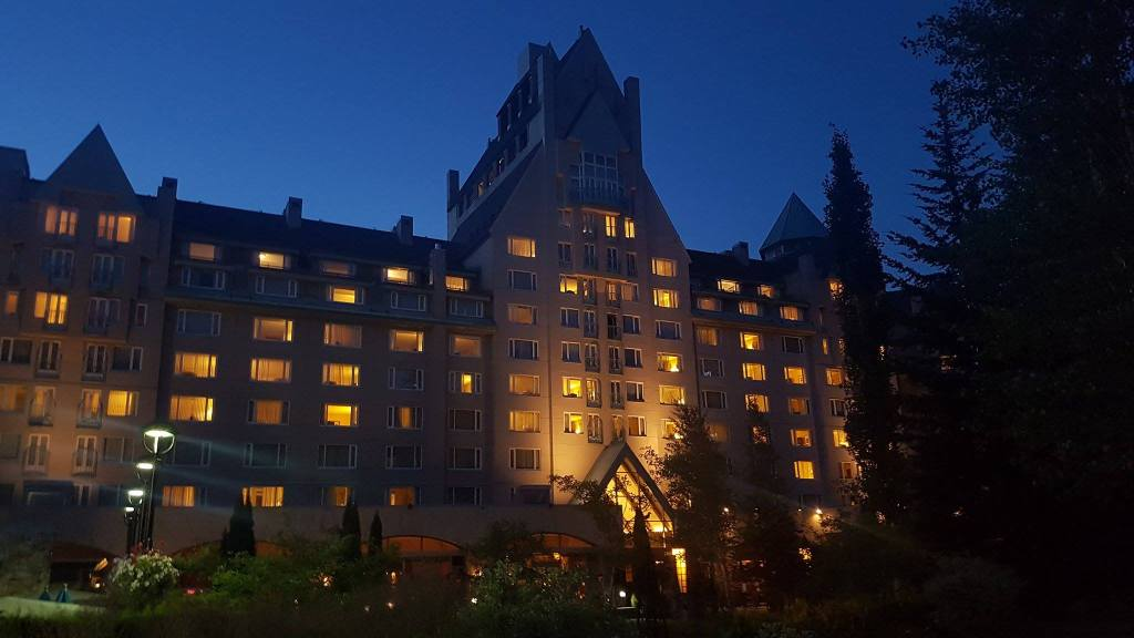 first hotel in the honeymoon road trip phase fairmont whistler canada